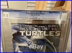 1984 Teenage Mutant Ninja Turtles #2 CGC 9.8 White Pages 1st Print