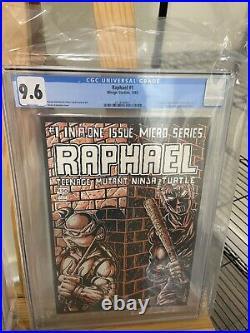 1985 Teenage Mutant Ninja Turtles Raphael 1 CGC 9.6 1st Casey Jones 1st Print