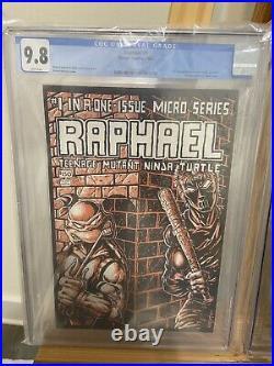 1985 Teenage Mutant Ninja Turtles Raphael 1 CGC 9.8 White Pages 1st Print
