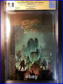 2 SS CGC 9.8 BOOK LOT Teenage Mutant Ninja Turtles #1 & TMNT Urban Legends #1