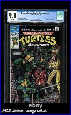 Archie Comics Teenage Mutant Ninja Turtles Adventures #1 (Direct) CGC 9.8