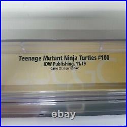 CGC 9.8 TMNT 100 NEAL ADAMS NINJA TURTLES 1/800 Signature Series SS NM/MT