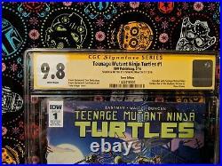 CGC 9.8 Teenage Mutant Ninja Turtles #1 (TMNT, IDW) ONLY 2 IN THE WORLD