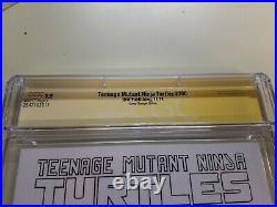 CGC 9.9 MINT TMNT 100 NEAL ADAMS NINJA TURTLES 1/800 9.8+ Signature NM+
