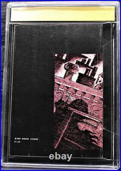 CGC SS 8.0 TEENAGE MUTANT NINJA TURTLES #1 3rd Print Signed/Sketch Eastman 1985