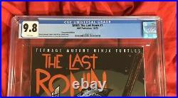 Cgc 9.8teenage Mutant Ninja Turtles The Last Ronin #1nycc Idw Eastman Variant