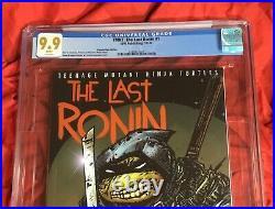 Cgc 9.9teenage Mutant Ninja Turtles The Last Ronin #1nycc Idw Eastman Variant