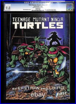 First Comics Graphic Novel #9 CGC 9.8 1986 Teenage Mutant Ninja Turtles G7 cm
