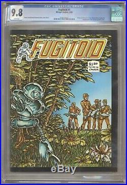 Fugitoid #1 CGC 9.8 1985 Teenage Mutant Ninja Turtles! 2 copies! RARE! L2 205 cm