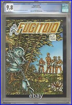 Fugitoid #1 CGC 9.8 Mirage 1985 Teenage Mutant Ninja Turtles! TMNT! WP L5 204 cm