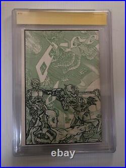 Kevin Eastman Signed Sketch Teenage Mutant Ninja Turtles #4 1985 Comic CGC 9.0