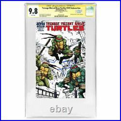 Megan Fox Autographed 2011 Teenage Mutant Ninja Turtles SDCC Ashcan CGC SS 9.8