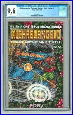 Michaelangelo Teenage Mutant Ninja Turtles 1986 (CGC 9.6 NM+) White Pages
