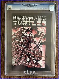 Mirage Teenage Mutant Ninja Turtles #1 CGC 9.2 1984 1st Print White Pages TMNT