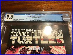 Mirage Teenage Mutant Ninja Turtles #1 Third Printing CGC 9.8