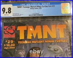 RARE HTF Teenage Mutant Ninja Turtles #29 TMNT Comic Book CGC 9.8 Volume 4