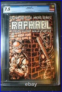 Raphael #1 (1985) Teenage Mutant Ninja Turtles TMNT CGC 7.5 1st Casey Jones