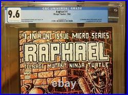 Raphael 1 CGC 9.6 1st Casey Jones 1st Print Teenage Mutant Ninja Turtles TMNT