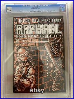 Raphael #1 CGC 9.6 Teenage Mutant Ninja Turtles 1st Casey Jones TMNT Looks 9.8