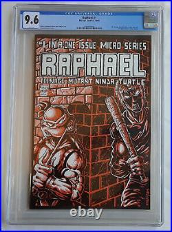 Raphael 1 CGC 9.6 WP white First Casey Jones TMNT Teenage Mutant Ninja Turtles