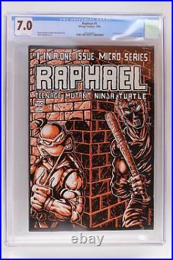 Raphael #1 Mirage 1985 CGC 7.0 1st Teenage Mutant Ninja Turtles spin-off