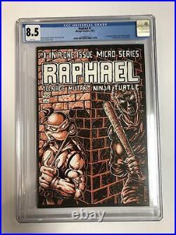 Raphael Teenage Mutant Ninja Turtles TMNT (1985) # 1 (CGC 8.5) 1st App Casey