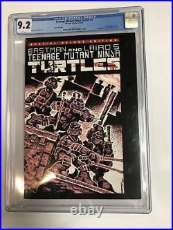 Special Deluxe Teenage Mutant Ninja Turtles TMNT (1992) # 1 (CGC 9.2 6th Print)