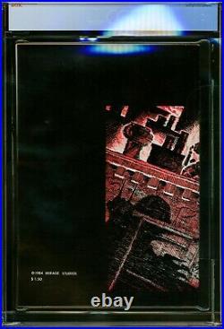 TEENAGE MUTANT NINJA TURTLES (1984) #1 Second Print CGC 9.2 NM- Mirage, TMNT