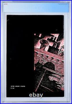 TEENAGE MUTANT NINJA TURTLES #1 2nd Print CGC 7.5 1st Appearance TMNT 1984