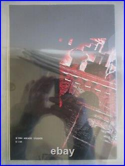 TEENAGE MUTANT NINJA TURTLES #1 CGC 9.2 MIRAGE 1984 1st PRINT WHITE PAGES TMNT