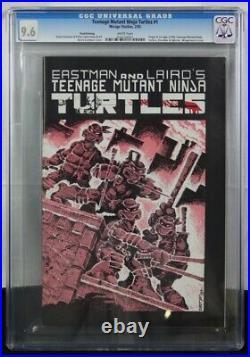 TEENAGE MUTANT NINJA TURTLES #1 CGC 9.6 1st Edition 3rd Print White Pages! TMNT