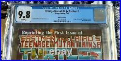 TEENAGE MUTANT NINJA TURTLES #1 CGC 9.8 Mirage Studios 1985 4th FOURTH PRINTING