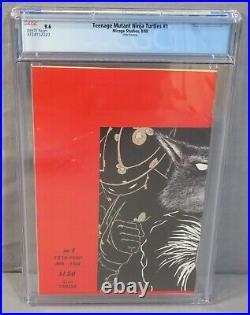 TEENAGE MUTANT NINJA TURTLES #1 Fifth 5th, Print Variant CGC 9.6 NM+ Mirage 1988