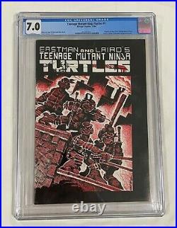 TEENAGE MUTANT NINJA TURTLES #1 (First Print) CGC 7.0 WHITE PAGES 1984 TMNT