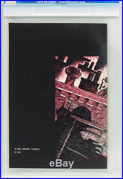 TEENAGE MUTANT NINJA TURTLES #1 (First Print OWithW Pages) CGC 7.0 1984