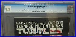 TEENAGE MUTANT NINJA TURTLES #1 Third 3rd, Print Variant CGC 9.2 NM- Mirage 1985