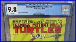 TEENAGE MUTANT NINJA TURTLES #26 (White Pages) CGC 9.8 NM/MT Mirage Comics 1989