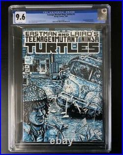 TEENAGE MUTANT NINJA TURTLES #3 CGC 9.6 1st printing 1985 White Pages TMNT