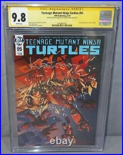 TEENAGE MUTANT NINJA TURTLES #95 Jennika 1st TMNT, Eastman Signed CGC 9.8 NM/MT