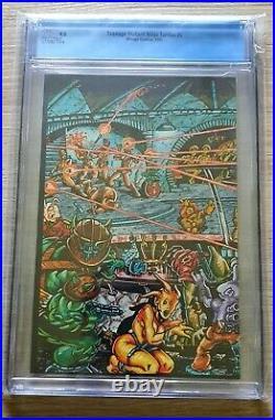 TEENAGE MUTANT NINJA TURTLES TMNT #5 Mirage Studios CGC 9.8 White 1985