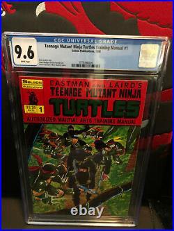 TEENAGE MUTANT NINJA TURTLES TRAINING MANUAL #1 (WithP) (1/86) CGC 9.6