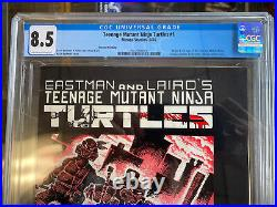 TEENAGE MUTANT NINJA Turtles #1 Mirage 1984 2nd Print CGC 8.5
