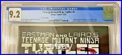 TMNT #1 3rd print CGC 9.2 WHITE pages First Teenage Mutant Ninja Turtles