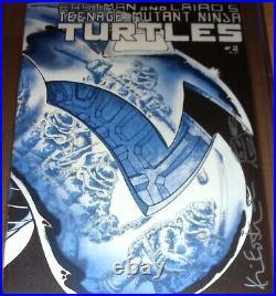 TMNT #2 1st print CGC SS 9.8 SIGNED Eastman Teenage Mutant Ninja Turtles Mirage