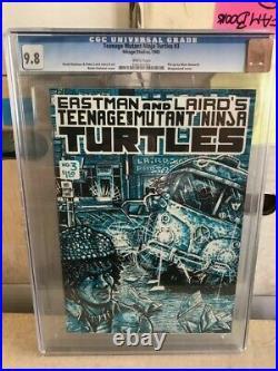 TMNT 3 CGC 9.8 3rd appearance Teenage Mutant Ninja Turtles, 2nd April O'Neil