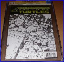 TMNT #50 Variant CGC SS 9.9 SIGNED Eastman SKETCH Teenage Mutant Ninja Turtles