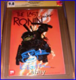 TMNT Last Ronin 1 Variant CGC SS 9.8 SIGNED Eastman Teenage Mutant Ninja Turtles