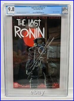TMNT TEENAGE MUTANT NINJA TURTLES THE LAST RONIN #1 CGC 9.8 1st Print Cover A