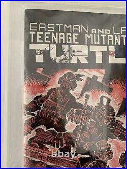 TMNT Teenage Mutant Ninja Turtles #1 Second 2nd Print, White Pages 1984 CGC