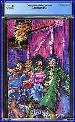 TMNT Teenage Mutant Ninja Turtles #4 Mirage 1987 CGC 9.0 2nd Print/Error